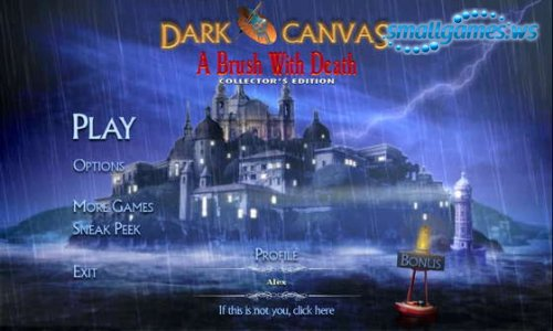 Dark Canvas: A Brush With Death Collectors Edition