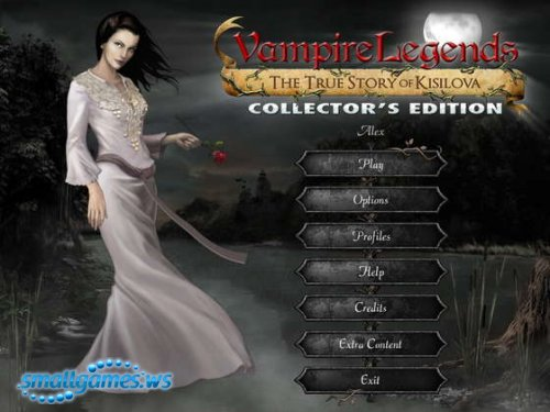 Vampire Legends: The True Story of Kisilova Collectors Edition