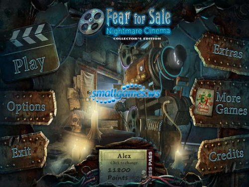 Fear for Sale 3: Nightmare Cinema Collectors Edition