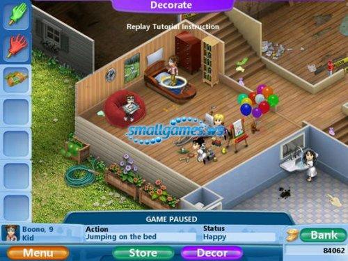 Http Smallgames Ws 16703 Virtual Families 2 Our Dream House Html