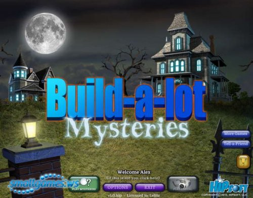 Build-a-lot 8: Mysteries