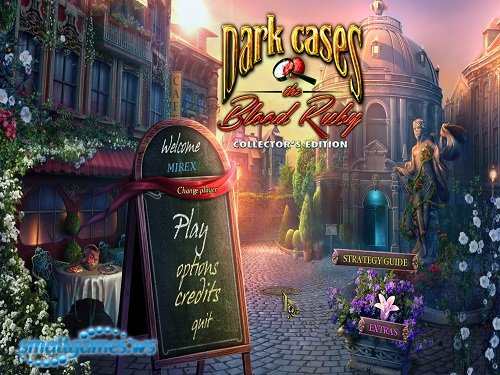 Dark Cases: The Blood Ruby Collectors Edition