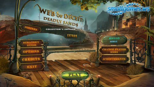 Web of Deceit 2: Deadly Sands Collectors Edition