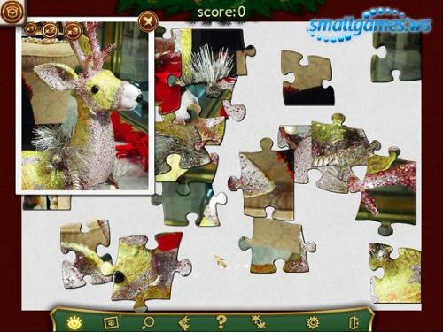 Holiday Jigsaw: Christmas
