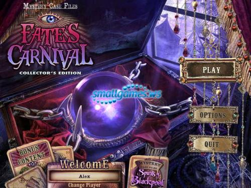 Mystery Case Files 10: Fates Carnival Collectors Edition