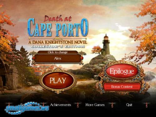 Death at Cape Porto: A Dana Knightstone Novel Collectors Edition