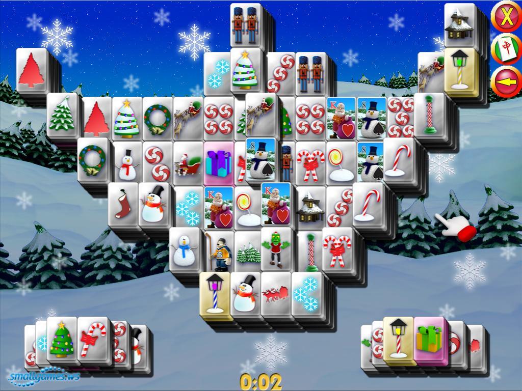 xmas mahjong