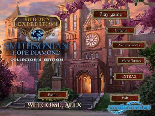 Hidden Expedition 6: Smithsonian Hope Diamond Collectors Edition