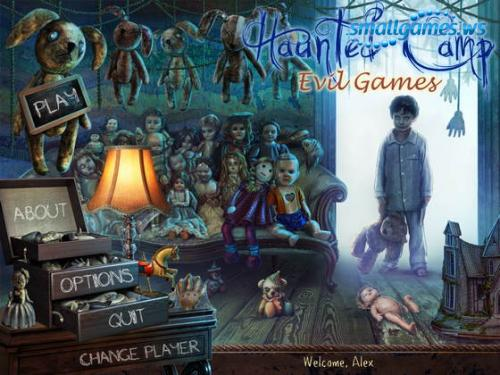 Haunted Camp: Evil Games