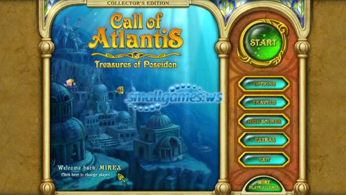 Call of Atlantis: Treasures of Poseidon Collectors Edition