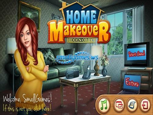 Hidden Object: Home Makeover