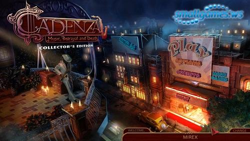 Cadenza: Music, Betrayal and Death Collectors Edition