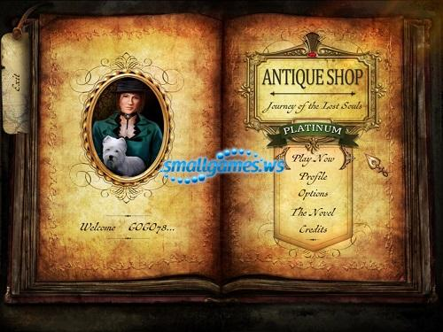 Antique Shop 2: Journey of the Lost Souls Platinum Edition