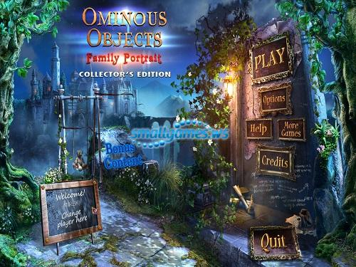 Ominous Objects: Family Portrait Collectors Edition