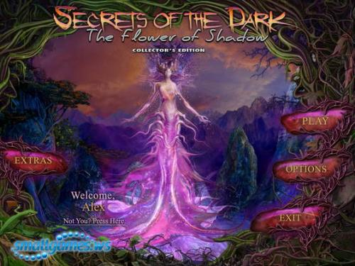 Secrets of the Dark 4: The Flower of Shadow Collectors Edition