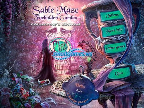 Sable Maze 3: Forbidden Garden Collectors Edition