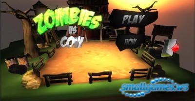 Zombies vs Cow 3D