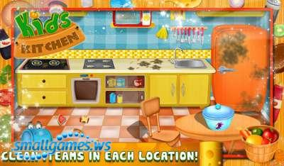 Kids Kitchen - Cooking Game