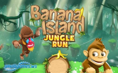 Banana Island Jungle Run