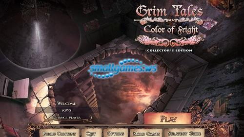 Grim Tales 7: Color Of Fright Collectors Edition