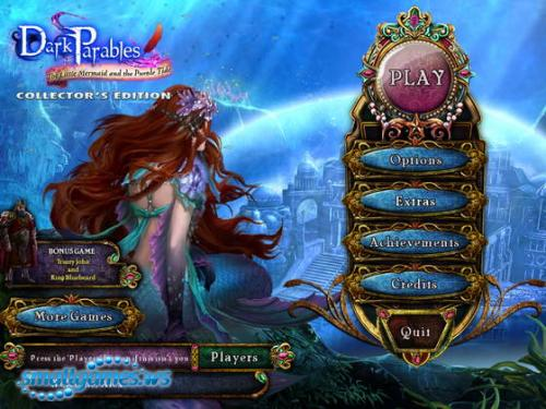Dark Parables 8: The Little Mermaid and the Purple Tide Collectors Edition