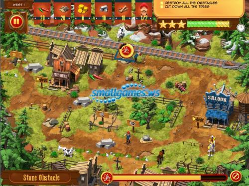 Lucky Luke: Transcontinental Railroad Builders