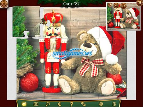Праздничный пазл. Рождество 2