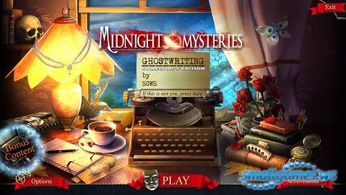 Midnight Mysteries 6: Ghostwriting Collectors Edition
