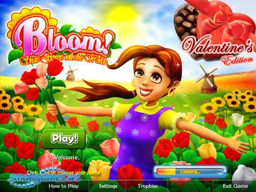 Bloom! Share flowers with the World: Valentines Edition