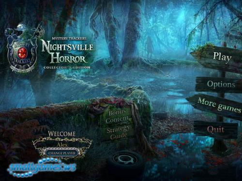 Mystery Trackers 8: Nightsville Horror Collectors Edition
