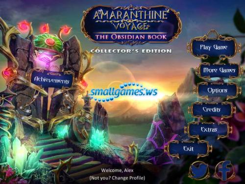 Amaranthine Voyage 4: The Obsidian Book Collectors Edition