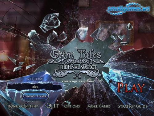 Grim Tales 8: The Final Suspect Collectors Edition