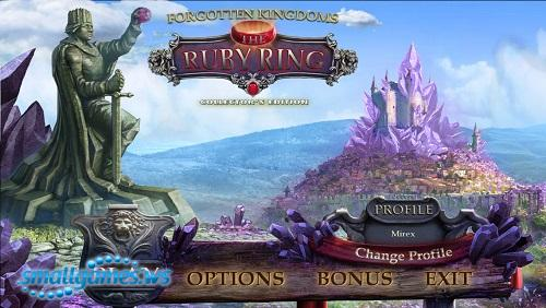 Forgotten Kingdoms 2: The Ruby Ring Collectors Edition