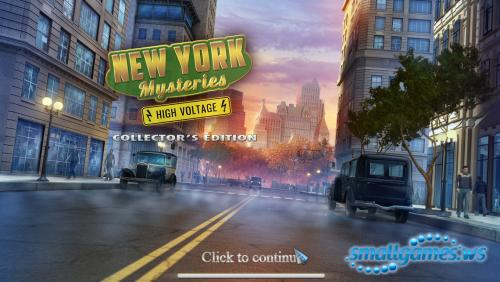 New York Mysteries 2: High Voltage Collectors Edition