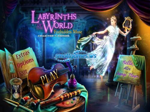 Labyrinths of the World 2: Forbidden Muse. Collectors Edition