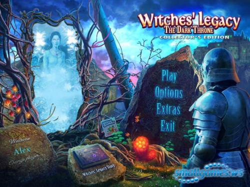 Witches Legacy 6: The Dark Throne Collectors Edition
