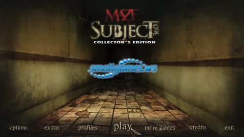 Maze: Subject 360 Collectors Edition