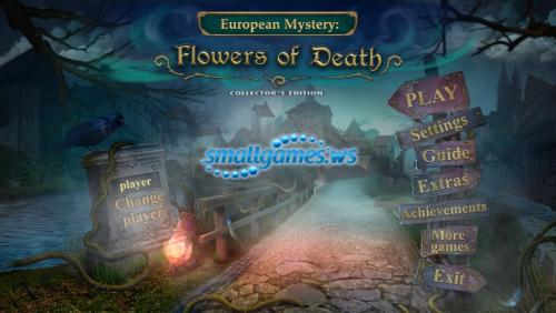 European Mystery 3: Flowers of Death Collectors Edition