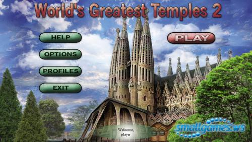 Worlds Greatest Temples: Mahjong 2