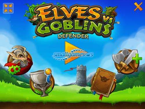 Elves vs Goblins: Defender