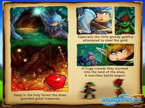 Elves vs Goblins: Defender
