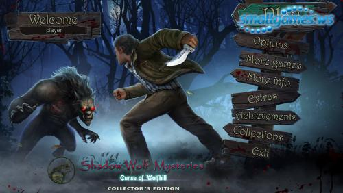 Shadow Wolf Mysteries 6: Curse of Wolfhill Collectors Edition