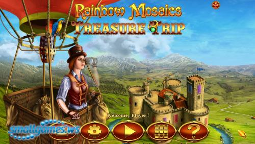 Rainbow Mosaics 2: Treasure Trip