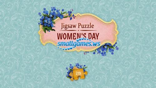 Jigsaw Puzzle. Womens Day