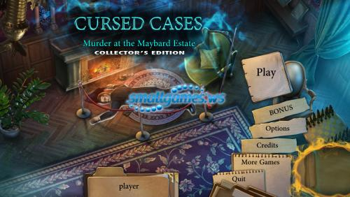 Cursed Cases: Murder at the Maybard Estate Collectors Edition