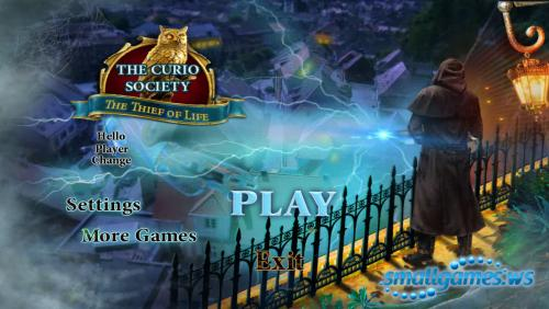 The Curio Society 3: The Thief of Life
