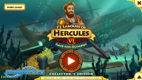 12 Labours of Hercules VI. Race for Olympus Collectors Edition