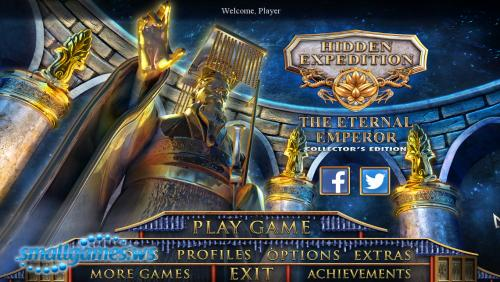 Hidden Expedition 12: The Eternal Emperor Collectors Edition