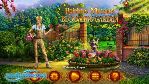 Rainbow Mosaics 3: Blooming Garden