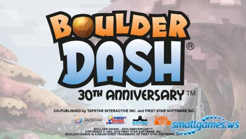 Boulder Dash: 30-th Anniversary Deluxe Edition (multi, рус)